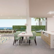 SyZyGy Homes The Villas_modern villas New Golden Mile_kitchenRealista Quality Properties Marbella