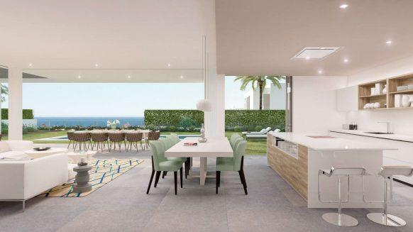 SyZyGy Homes The Villas_modern villas New Golden Mile_kitchenRealista Quality Properties Marbella