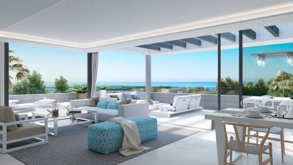 New Penthouse for sale Estepona SYZYGY The Residences_new development Cancelada Estepona_Realista Quality Properties Marbella