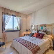 Two bedroom apartment Large L-shaped livingroom overlooking el Paraiso Golf course and the sea, Estepona Realista Quality Real Estate Marbella
