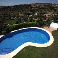 Villa La Alqueria_Swimming pool and Views_Realista Quality Properties Marbella