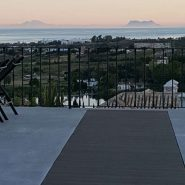 Villa Los Flamingos 5 bedroom_Night view Gibraltar_Realista Quality Properties Marbella