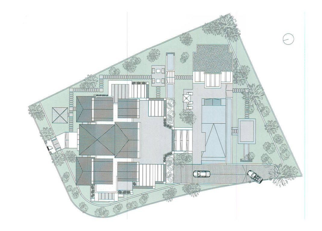 Large corner building plot for sale in Sierra Blanca, Marbella