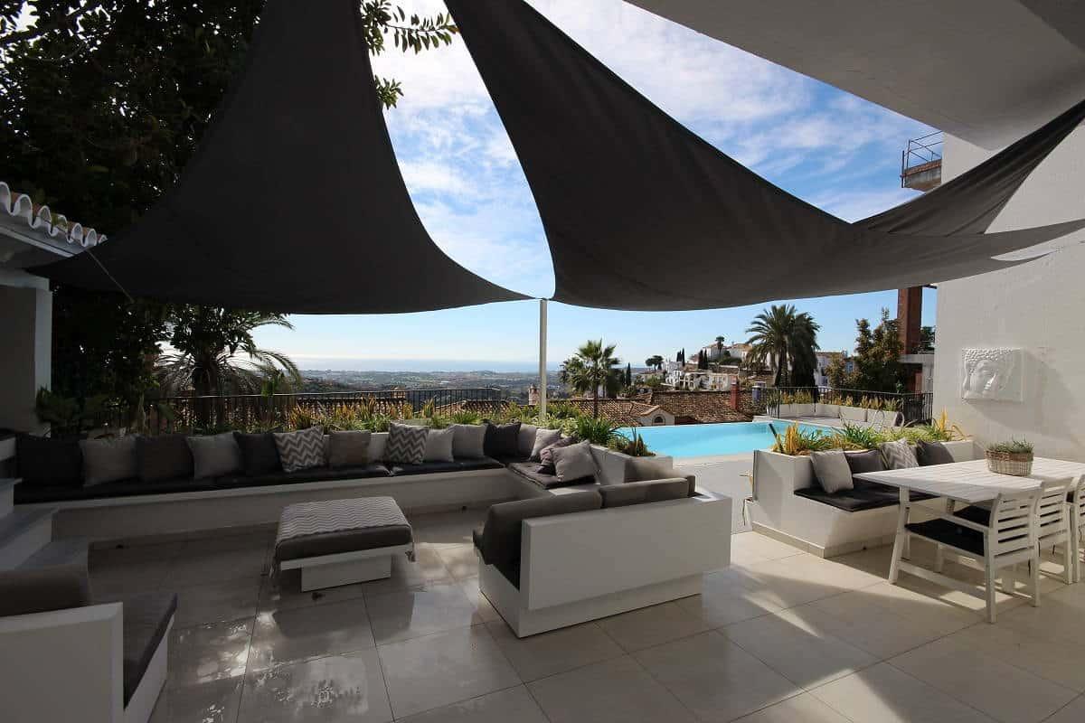 El Madronal 5 bedroom villa for sale_terrace III_Realista Quality Properties Marbella