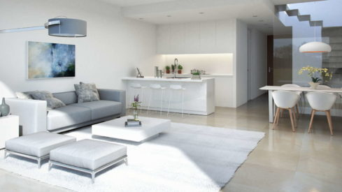 La Valvega_Living room with open kitchen_Realista Quality Properties Marbella