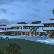 La Valvega_evening view of the complex_Realista Quality Properties Marbella