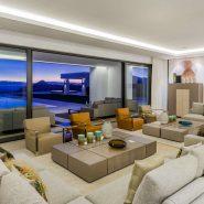 La Zagaleta for sale_Luxury villa_Heaven 11_Livingroom at night II_Realista Quality Properties Marbella