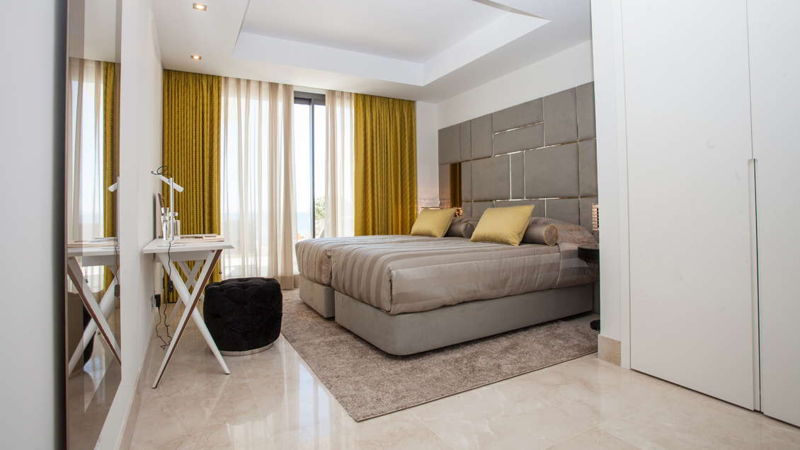 les rivages 3 bedroom apartment guest bedroom realista quality