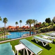 Lomas del Conde Luque Benahavis_sea view 2 bedroom apartment_garden area_Realista Quality Properties Marbella