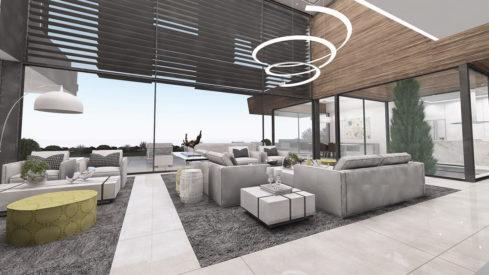 Signature homes Collection_modern 4 bedroom villa for sale Benahavis_Living room_Realista Quality Properties Marbella