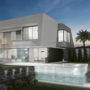 Signature homes Collection_modern 4 bedroom villa for sale Benahavis_Swimming pool_Realista Quality Properties Marbella