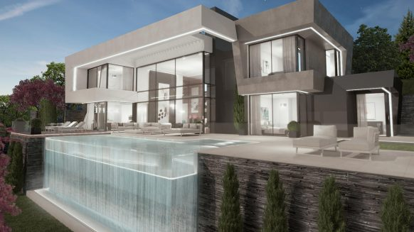Create your own modern villa in La Alqueria Benahavis