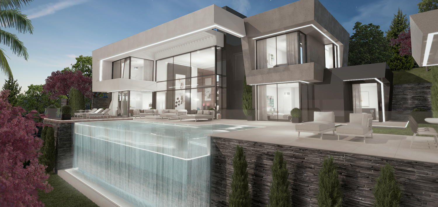 Signature homes Collection_modern villa for sale Benahavis I_Realista Quality Properties Marbella