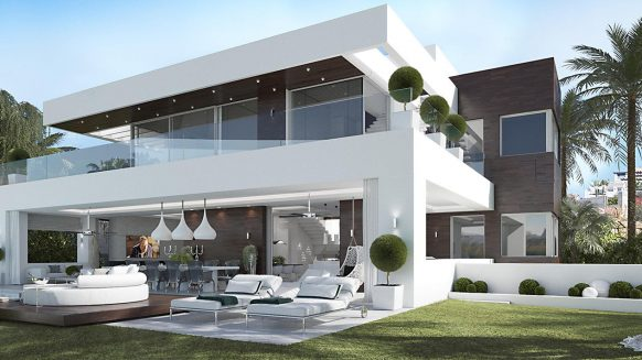 Signature homes Collection_new built modern 4 bedroom villas in La Alqueria Benahavis II_Realista Quality Properties Marbella