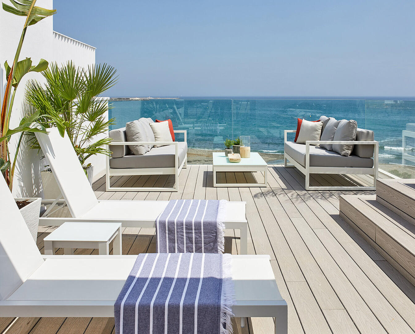 The Island Estepona beachfront townhouse luxury and at walking distance to the harbor and town centre