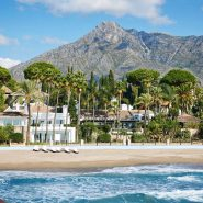 View to Marbella Club Hotel Golden Mile