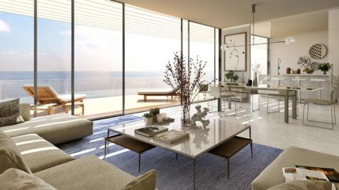 The Edge Estepona_front line beach new development_Ground floor livingroom_Realista Quality Properties Marbella