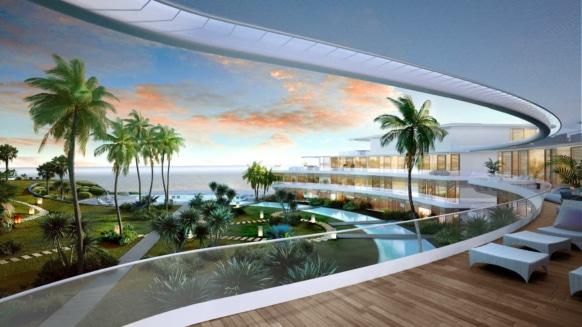 The Edge Estepona new build frontline beach apartment for sale