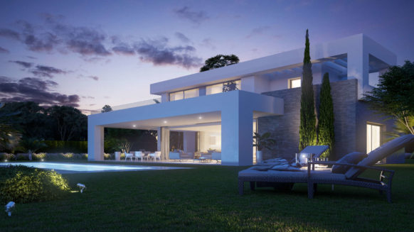 Modern 6 bedroom villa for sale in La Finca de La Cala new development Mijas Costa