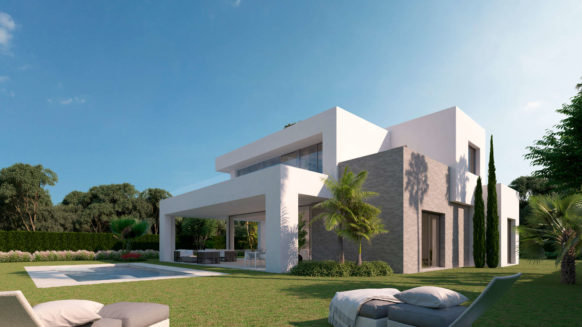 Modern contemporary 3 bedroom villa for sale in new development La Finca de La Cala