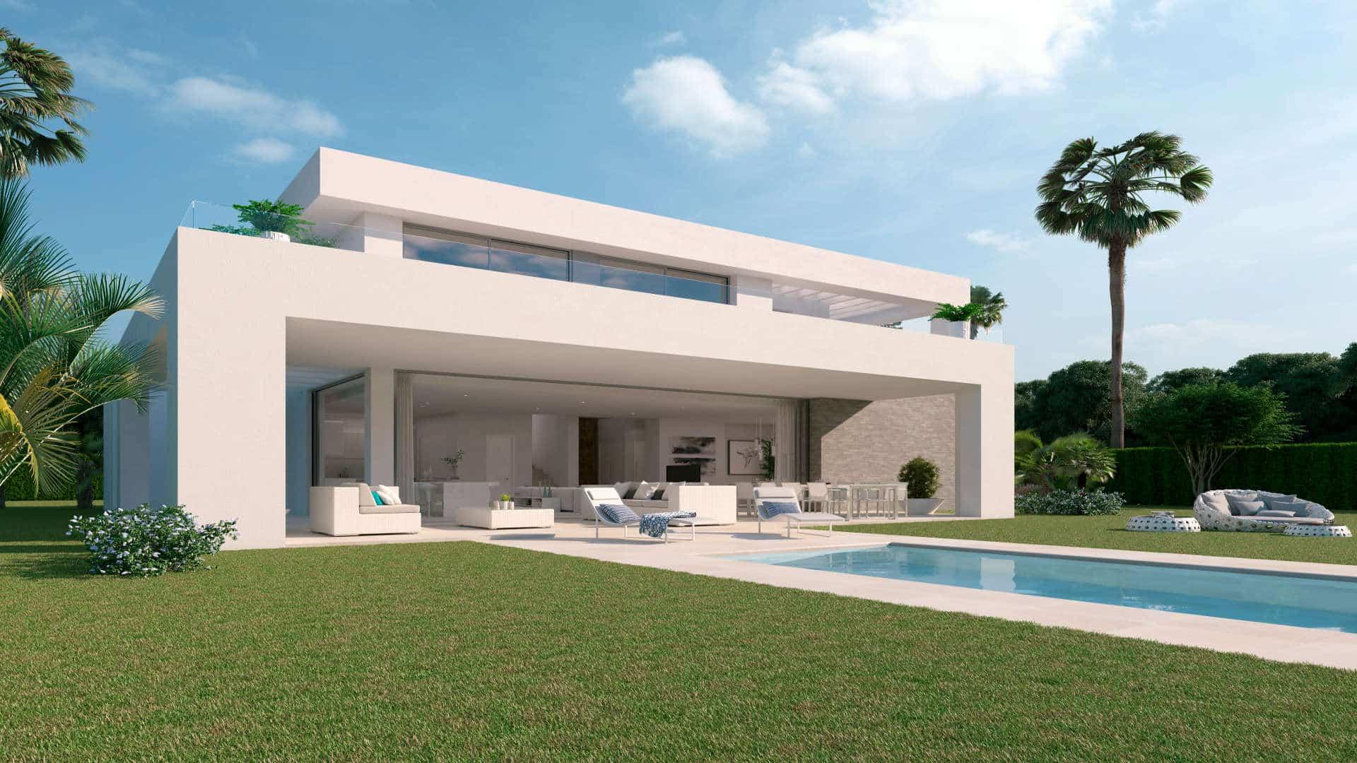Moderne 4 slaapkamer Morera villa te koop – nieuwbouwproject La Finca de La Cala