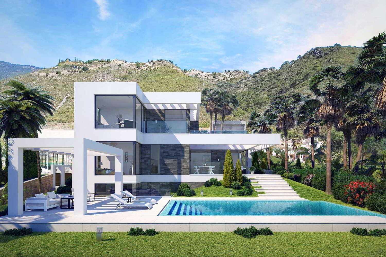 Panoramic sea views new build villa for sale el mirador for Villas otoch paraiso