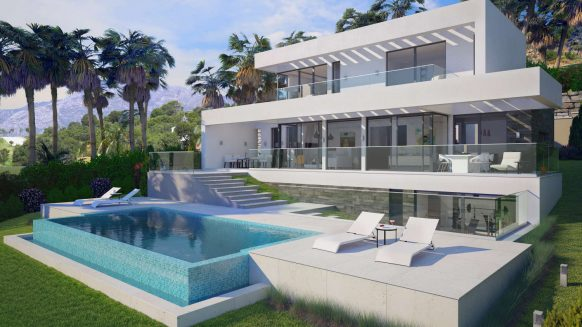 New project villa for sale_El Mirador del Paraiso_Benahavis_Realista Quality Properties Marbella 55