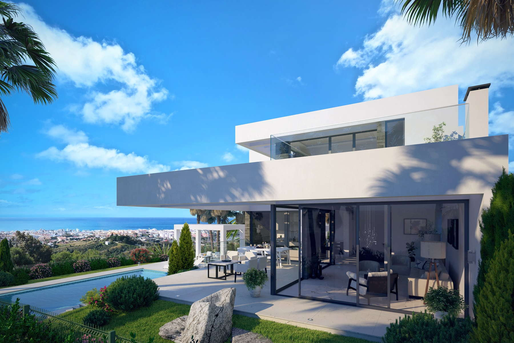 New project villa for sale_El Mirador del Paraiso_Benahavis_Realista Quality Properties Marbella 7
