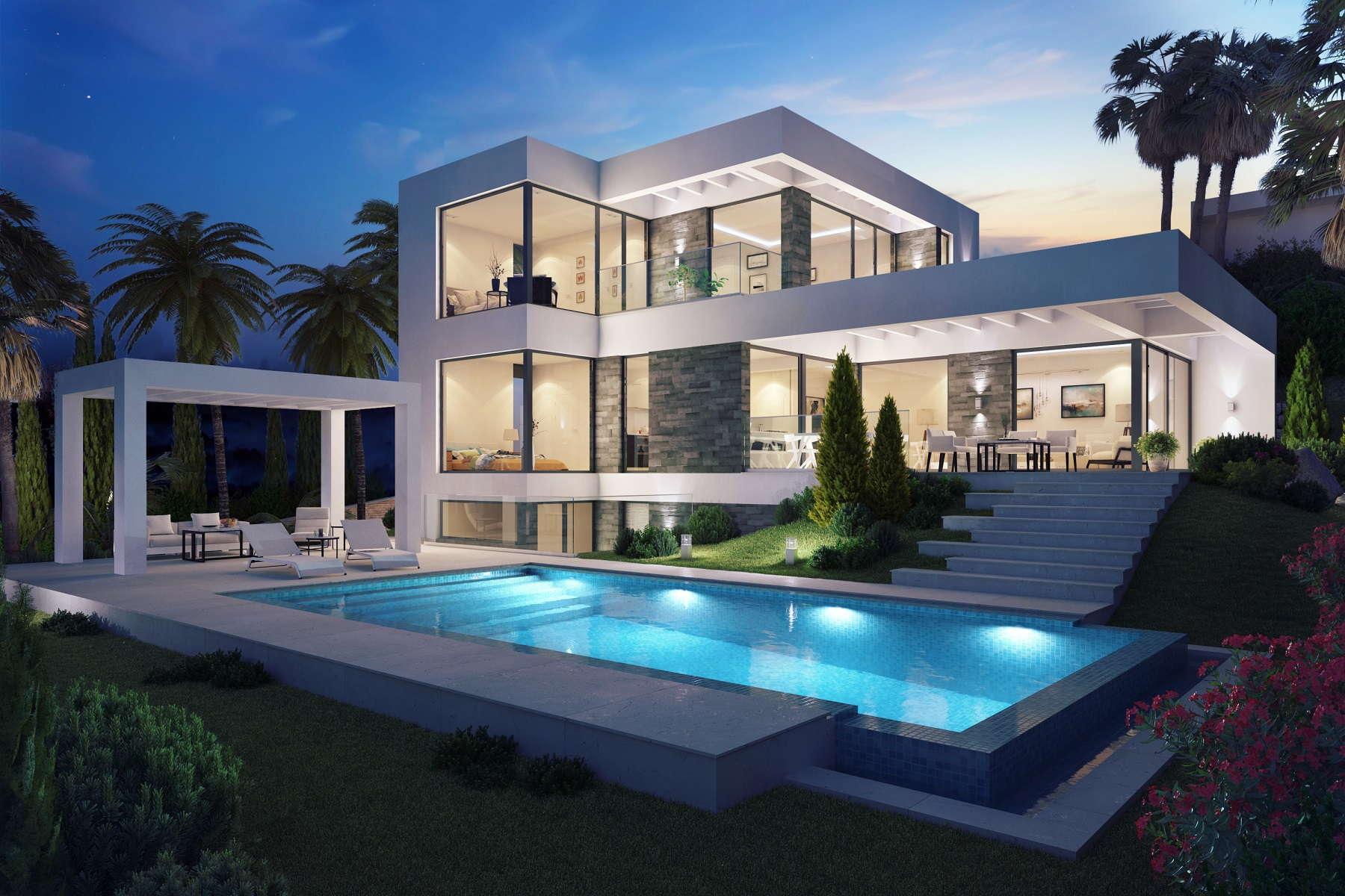 Panoramic Sea Views New Build Villa For Sale El Mirador