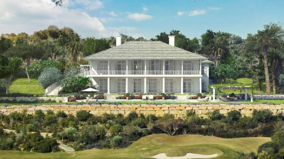 New Colonial style Villa in Finca Cortesin Golf Resort