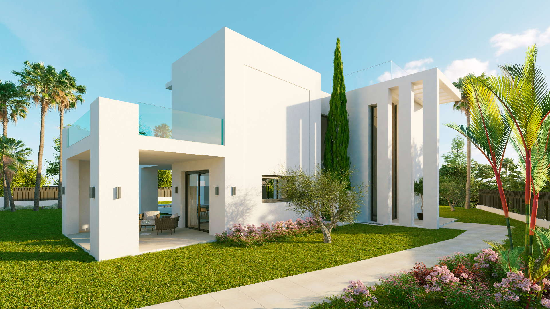 New Villa In Los Olivos Nueva Andalucia Marbella  U2022 Realista