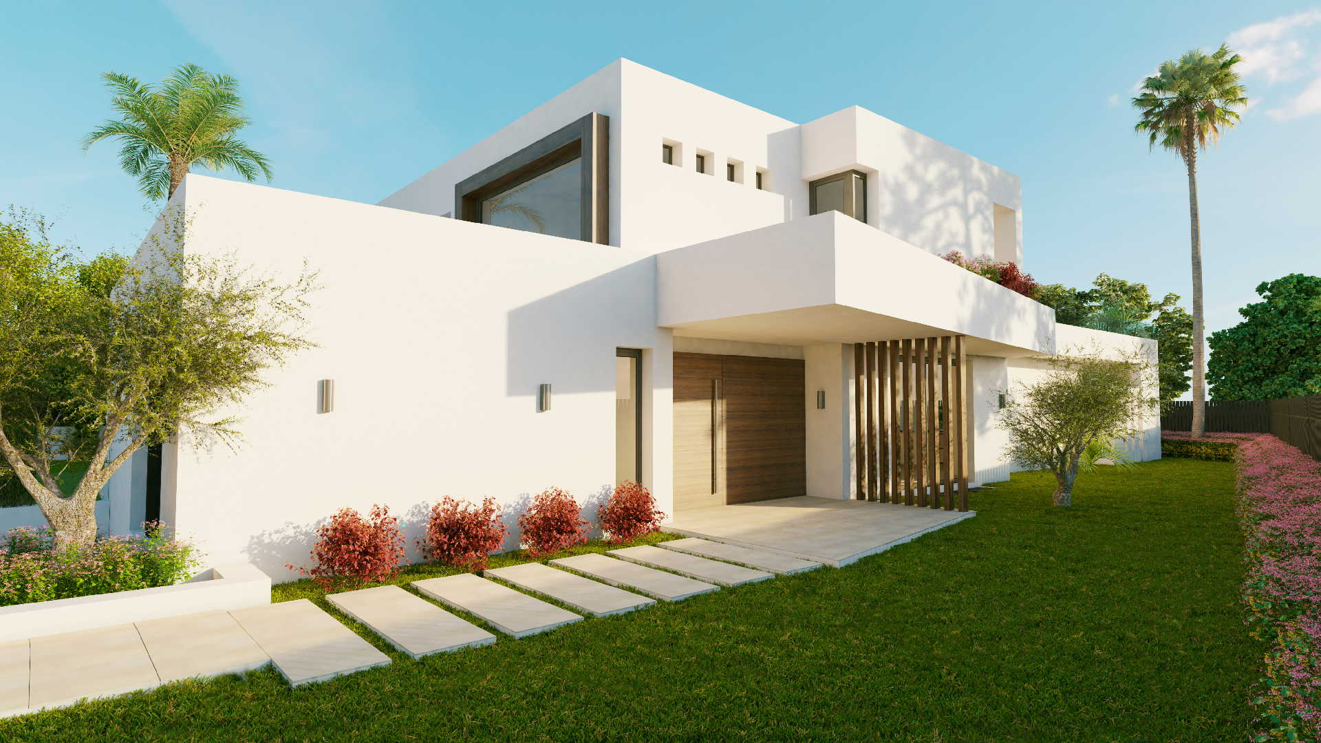 Los olivos nueva andalucia marbella new modern villa for Moderne villa
