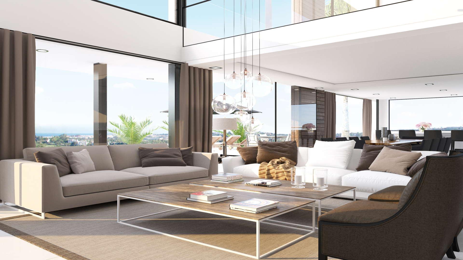 Los Olivos Nueva Andalucia Marbella New Modern Villa Project Realista Quality Properties 40