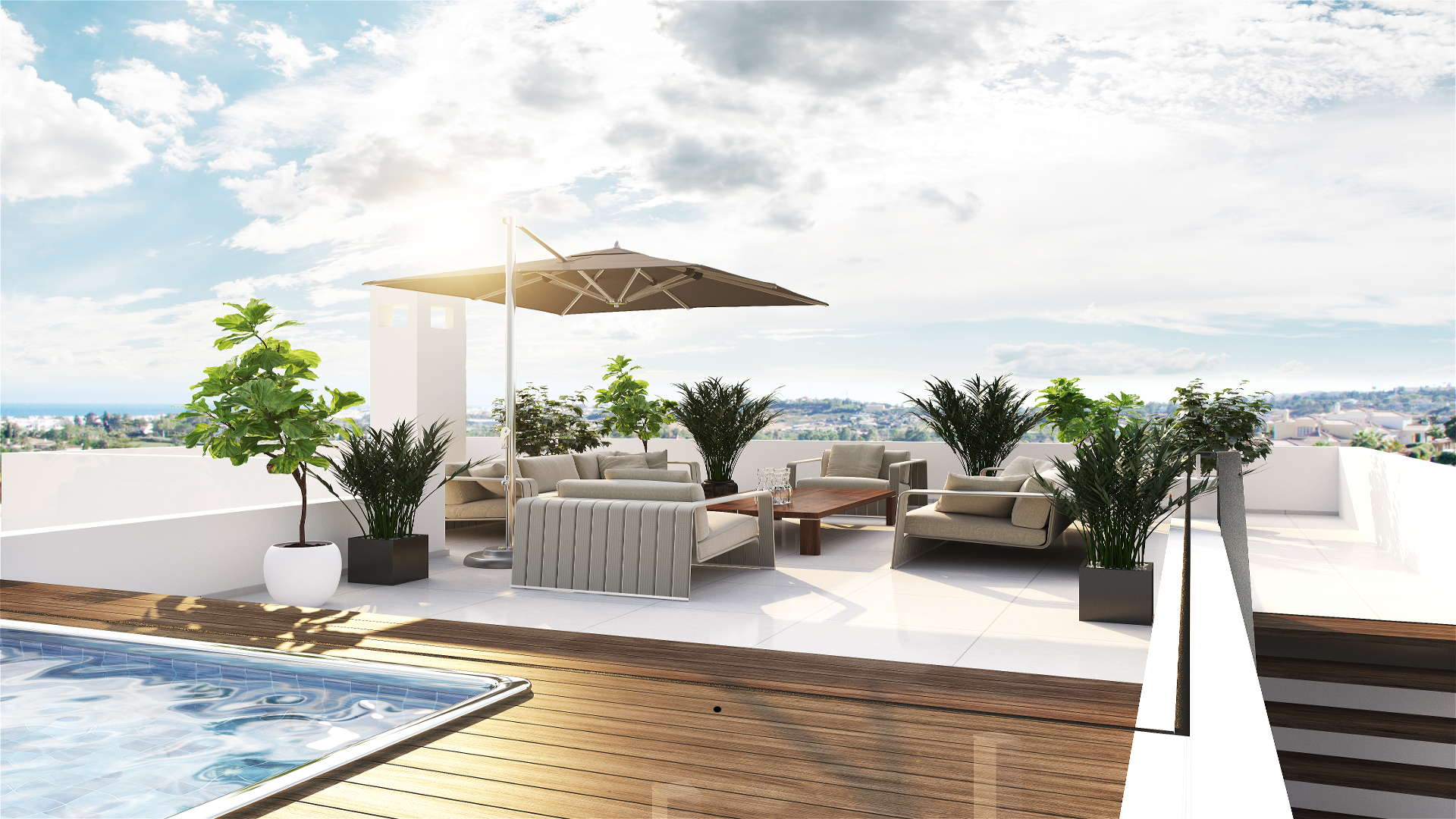New villa in los olivos nueva andalucia marbella for sale for Modern quality homes