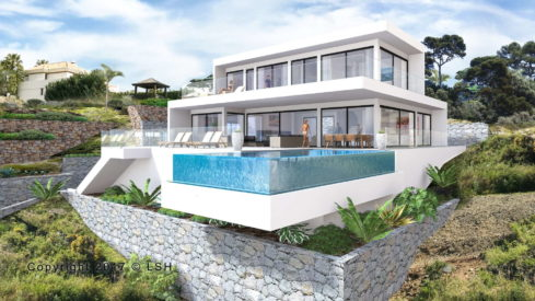 New modern Villa Los Flamingos Golf Resort Benahavis for sale_Realista Quality Properties Marbella