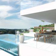 New modern Villa project Los Flamingos Golf Resort Benahavis_Realista Quality Properties Marbella