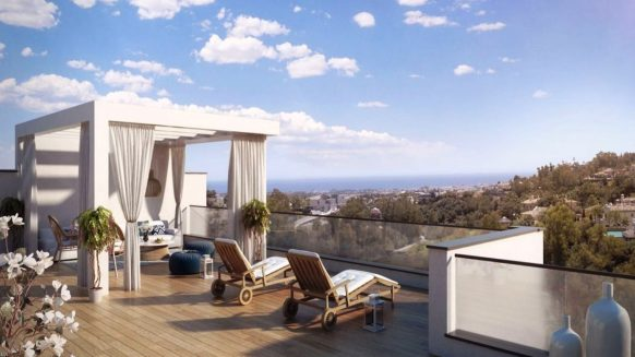 Alborada Homes Marbella penthouse for sale 4 bedrooms amazing views new in Benahavis