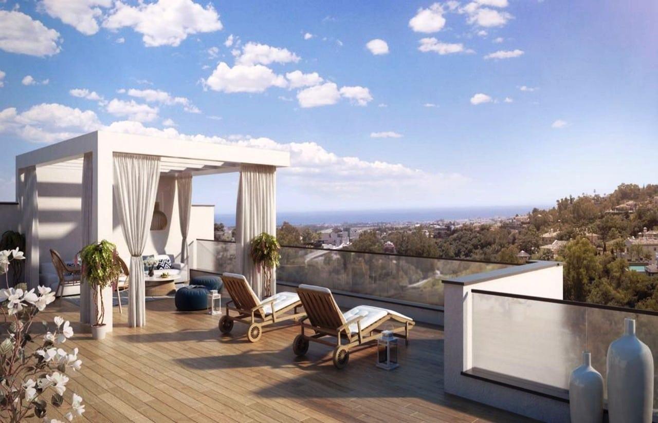 Alborada Homes Marbella penthouse for sale 4 bedrooms amazing views new in Benahavis