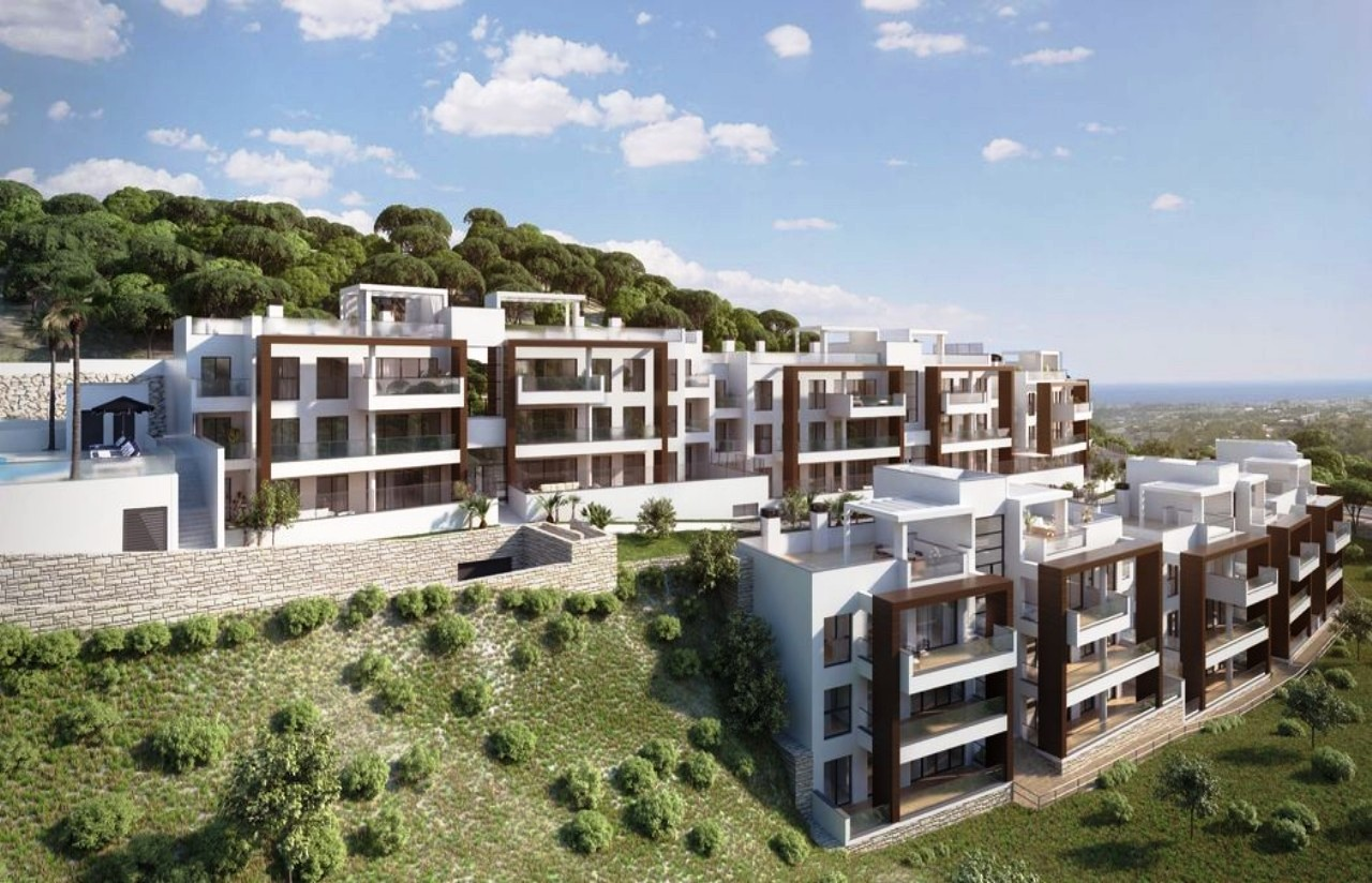 New 4 Bedroom Apartment For Sale With Panoramic Views In Alborada Homes Marbella Marbella Spain
