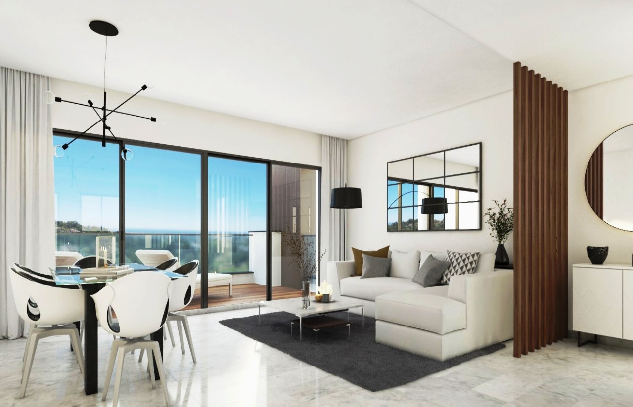New 4 bedroom apartment for sale with golf and sea views Alborada ...