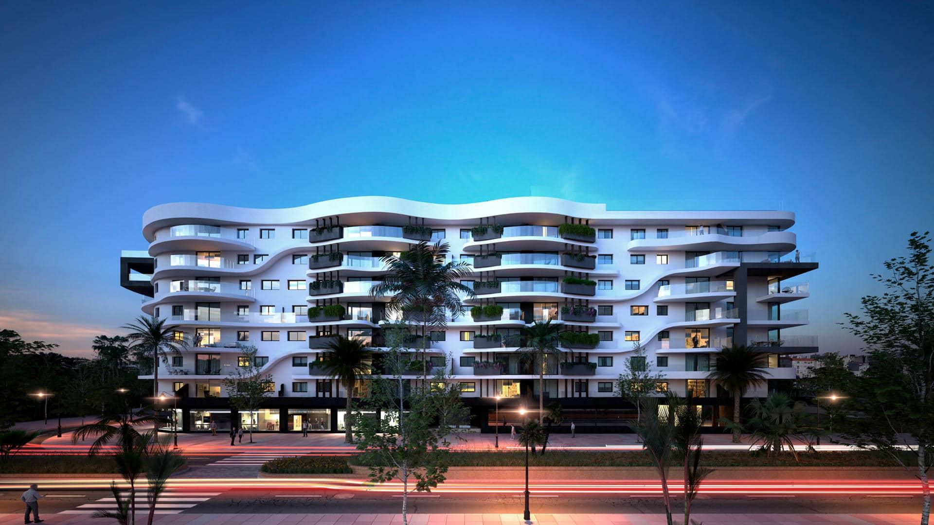 residential infinity estepona city apartment • realista