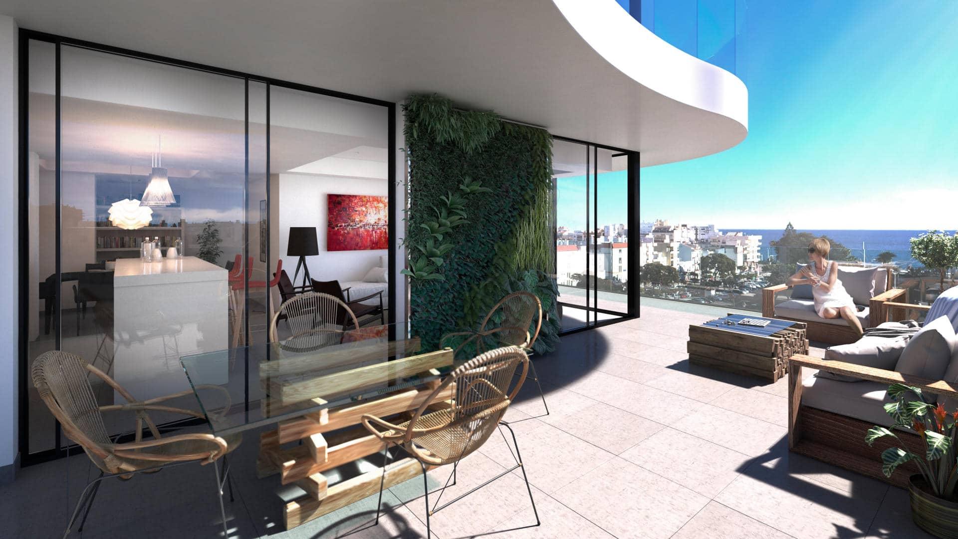 City centre Estepona penthouse for sale new contruction
