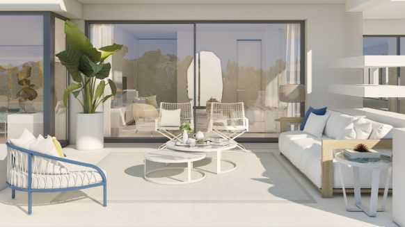 La Meridiana Suites Marbella New build apartment for sale The Golden Mile