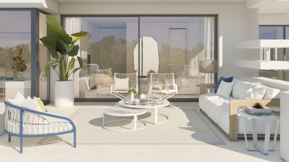 Nieuwbouw appartement te koop Marbella Golden Mile La Meridiana Suites