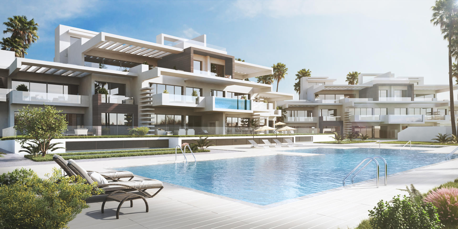 Two bedroom apartment for sale marbella new build la for Houses for sale with suites