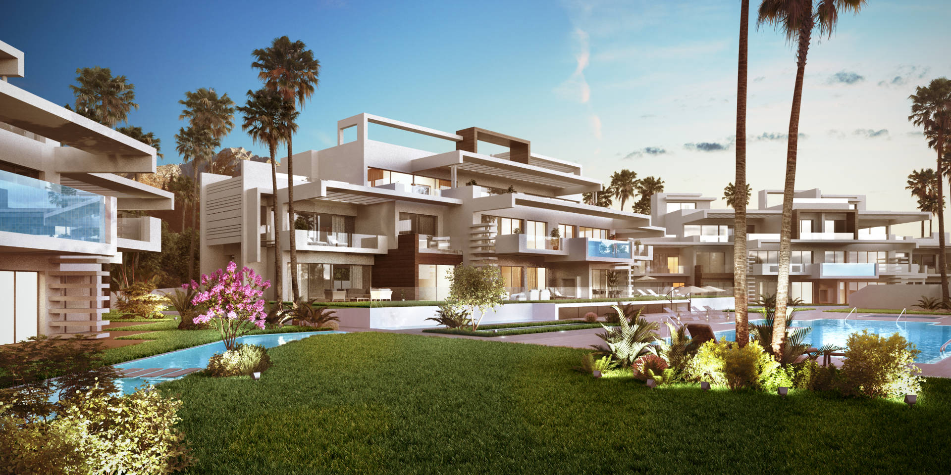Two bedroom apartment for sale Marbella new build La Meridiana Suites