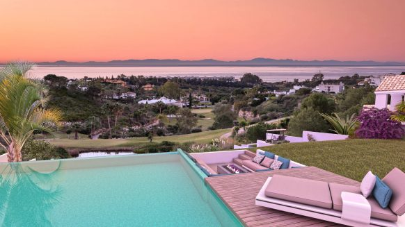 New build villa for sale in The Heights Estepona