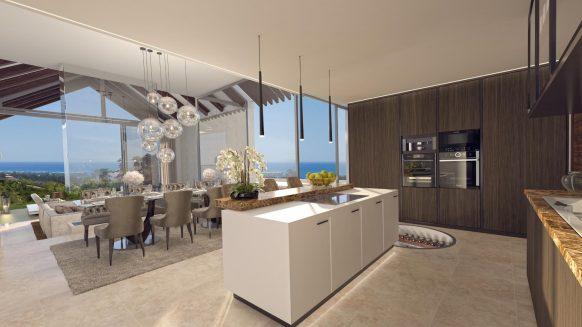 The Heights La Resina Golf Estepona new build villa for sale near Marbella