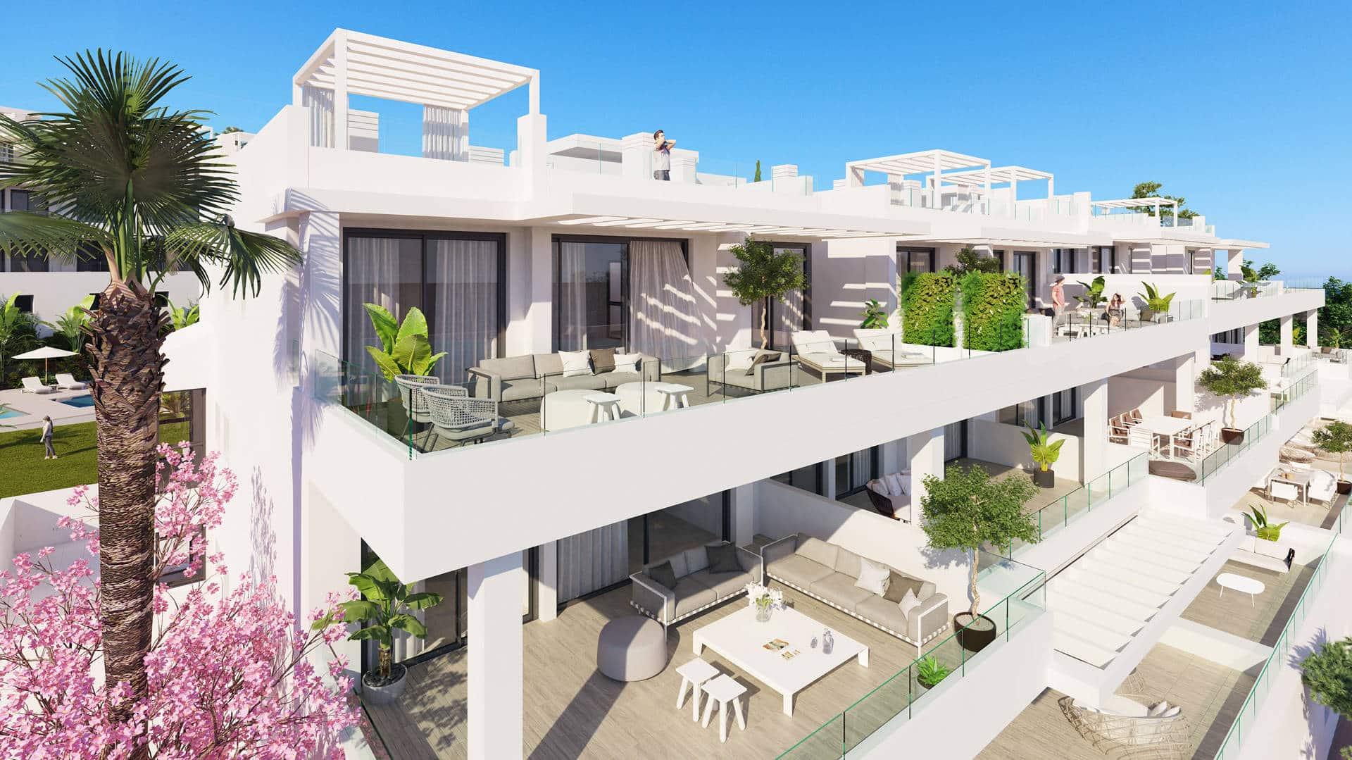 Brand new apartment Las Olas Estepona for sale