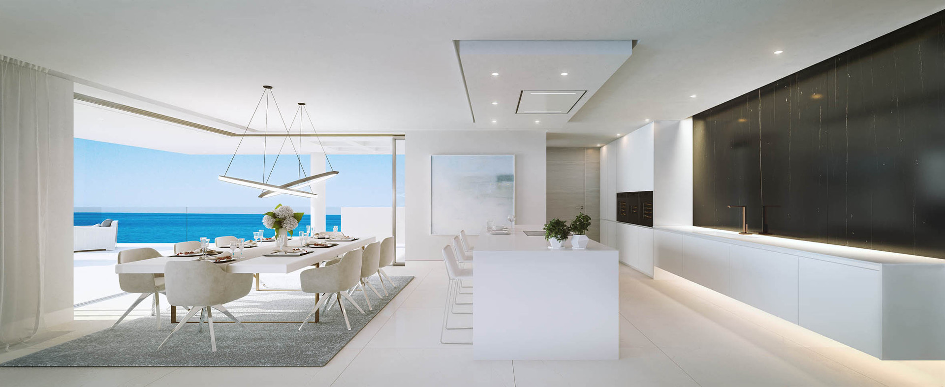 Emare Estepona Beach front off plan Luxury Modern Apartments and  Penthouses, Marbella, Spain